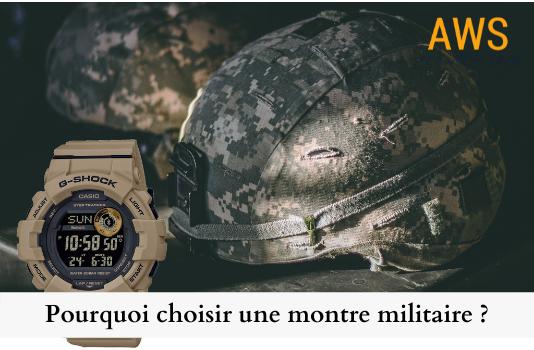 Pourquoi choisir une montre militaire ?